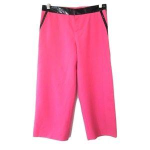 Marc Jacobs tuxedo pink shorts size 4 small pvc